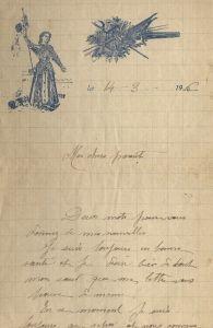 lettre MC 14 3 1916a